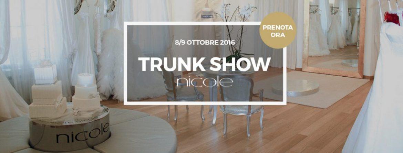 8/9 Ottobre Trunk Show Nicole Spose